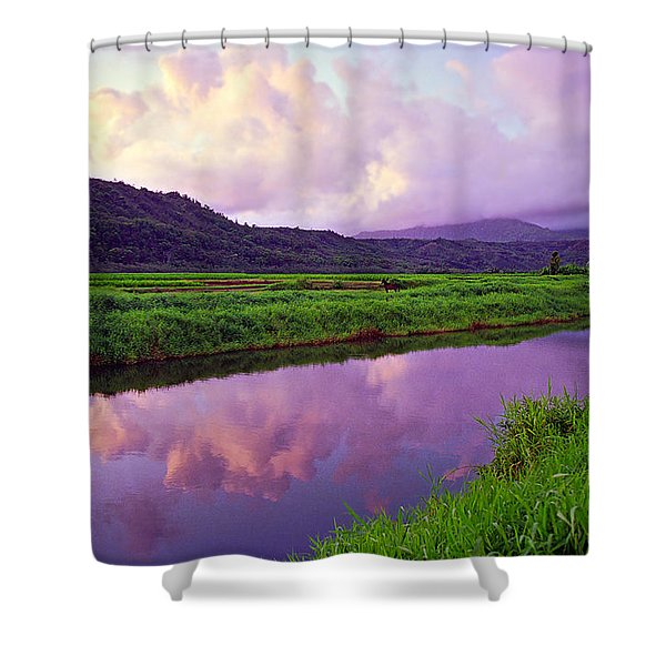 Hanalei Dawn Shower Curtain by Kevin Smith