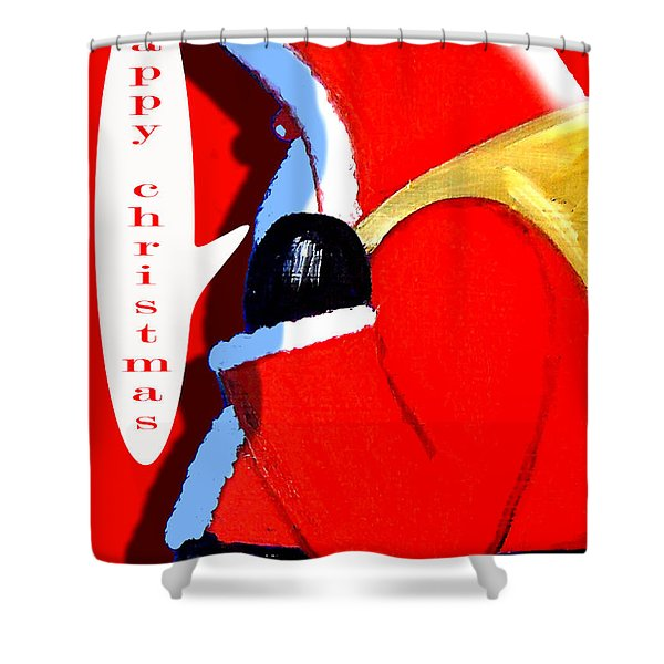 HAPPY CHRISTMAS 37 Shower Curtain by Patrick J Murphy