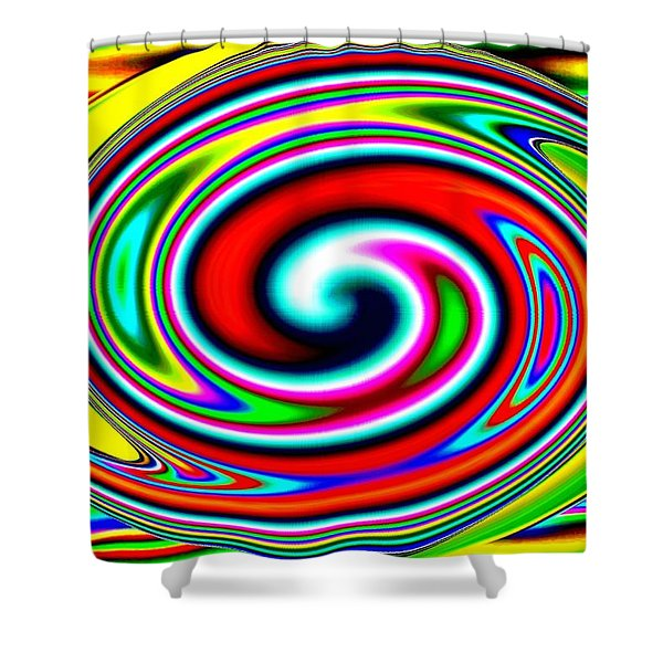 Harmony 39 Shower Curtain by Will Borden