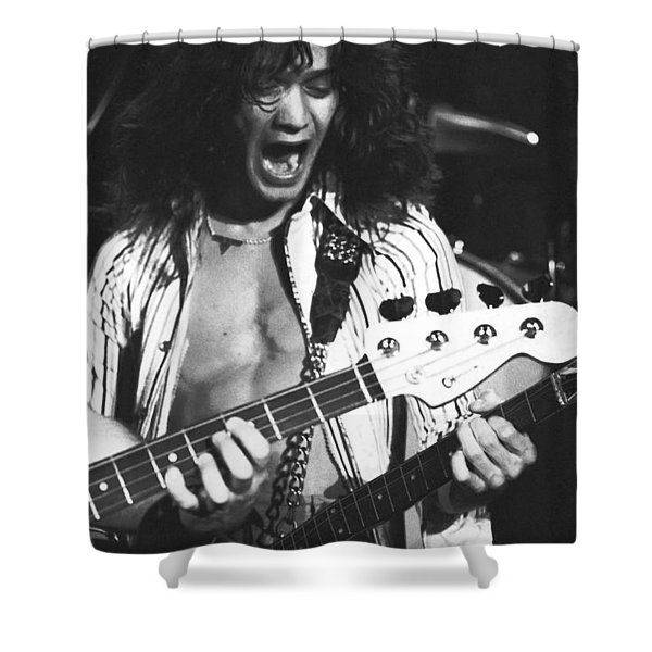 Having Fun On Stage Shower Curtain by Ben Upham