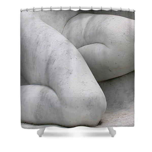 Higher Power Shower Curtain by Juergen Roth