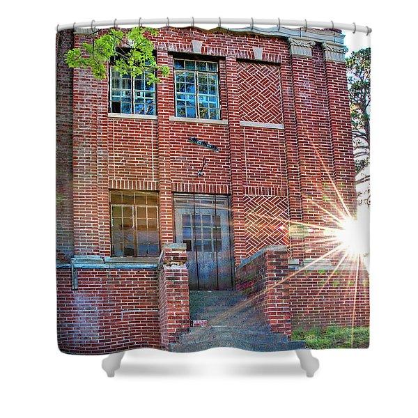 Historic Veteran's Hospital IIi Shower Curtain by Tamyra Ayles