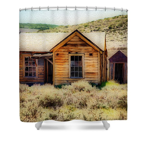 Homestead 2 Shower Curtain by Cheryl Young