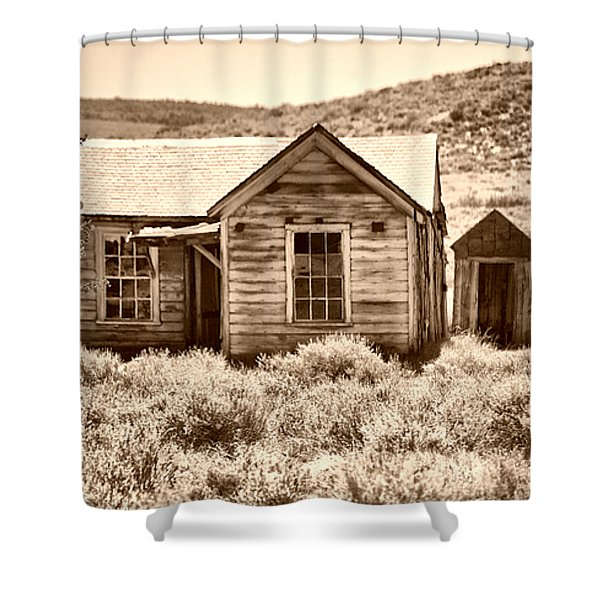 Homestead Shower Curtain by Cheryl Young