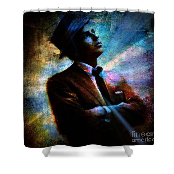 I Did It My Way Shower Curtain by WBK