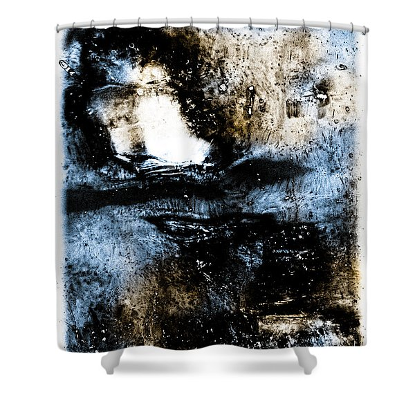 Ice Number One Shower Curtain by Bob Orsillo