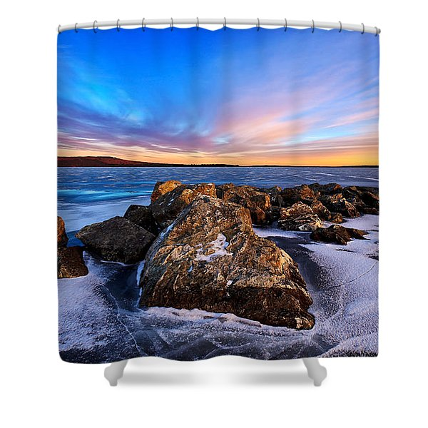 Icebound 2 Shower Curtain by Bill Caldwell -        ABeautifulSky Photography
