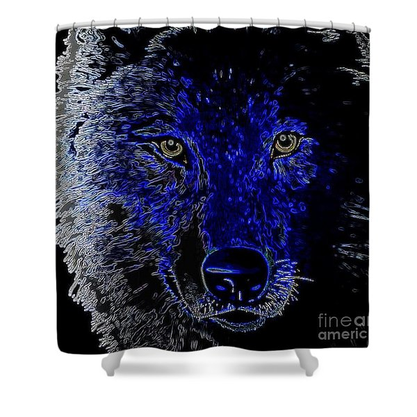 I'll Be Watching You Shower Curtain by WBK