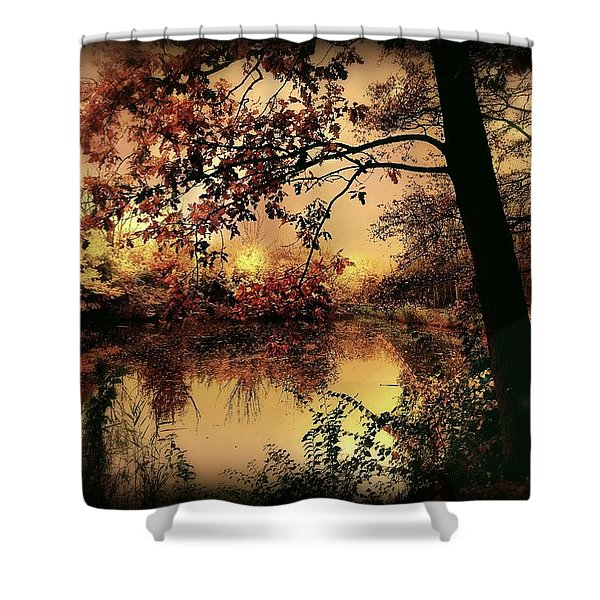 In Dreams Shower Curtain by Photodream Art