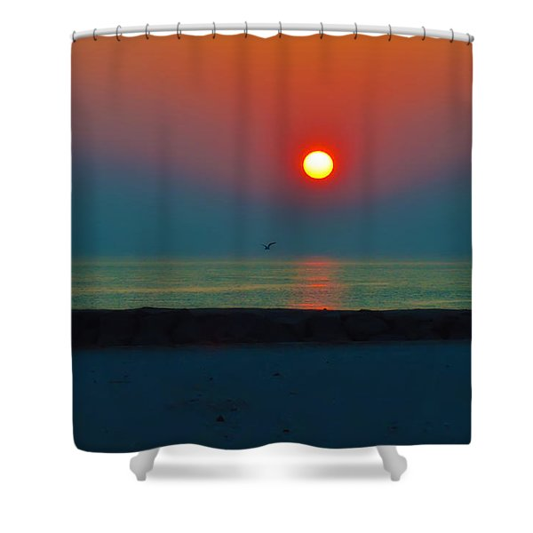 In the Morning Sun Shower Curtain by Bill Cannon
