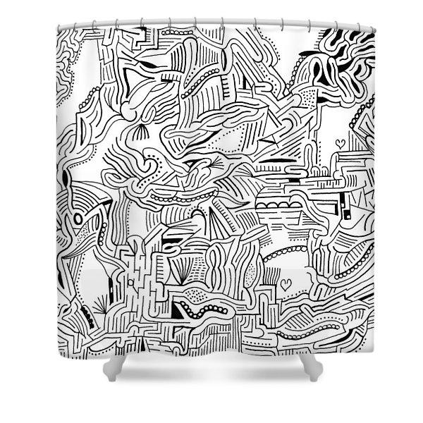 Inclusive Shower Curtain by Steven Natanson