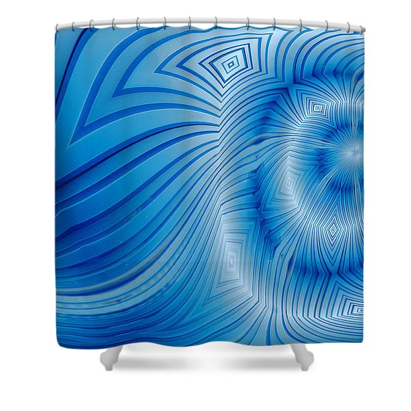 Into The Mystic Shower Curtain by Paul Wear