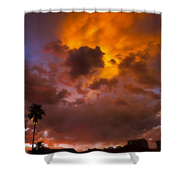 Intuition Shower Curtain by Skip Hunt
