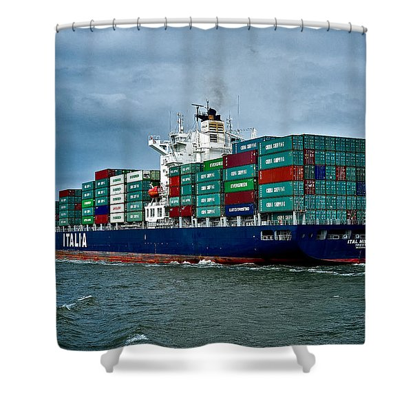 Ital Milione Shower Curtain by Christopher Holmes
