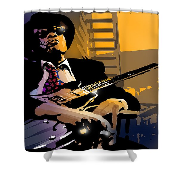 J L Hooker Shower Curtain by Paul Sachtleben