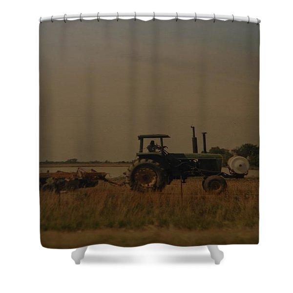 JOHN DEERE ARKANSAS Shower Curtain by ROB HANS