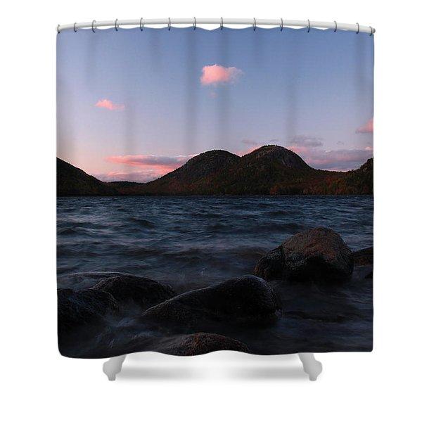 Jordan Pond Shower Curtain by Juergen Roth