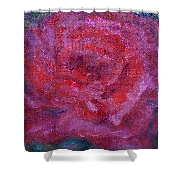 Joyful Shower Curtain by Quin Sweetman
