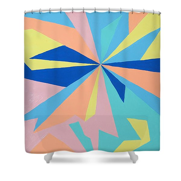 JUST CRAZY Shower Curtain by Robert Margetts