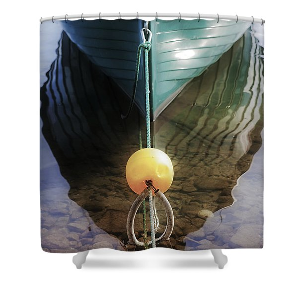 Keel Of A Boat Shower Curtain by Joana Kruse