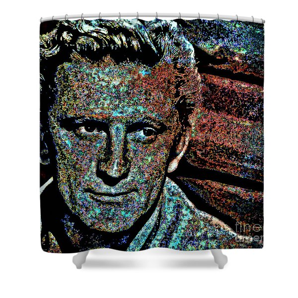 Kirk  Shower Curtain by WBK
