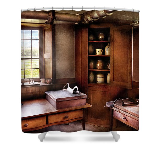 Kitchen - Nothing ordinary Shower Curtain by Mike Savad