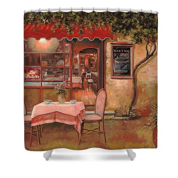La Palette Shower Curtain by Guido Borelli