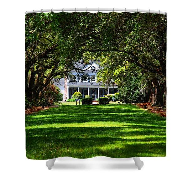 Legare Waring House Charleston Sc Shower Curtain by Susanne Van Hulst