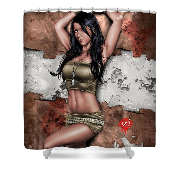 Lights Out 3 Shower Curtain by Pete Tapang
