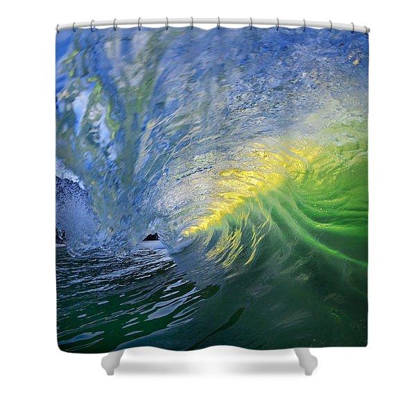 Limelight Shower Curtain by Sean Davey