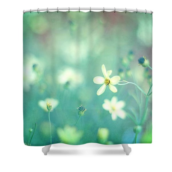 Lovestruck Shower Curtain by Amy Tyler