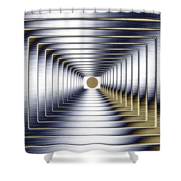 Luminous Energy 1 Shower Curtain by Will Borden