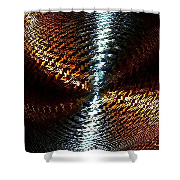 Luminous Energy 10 Shower Curtain by Will Borden