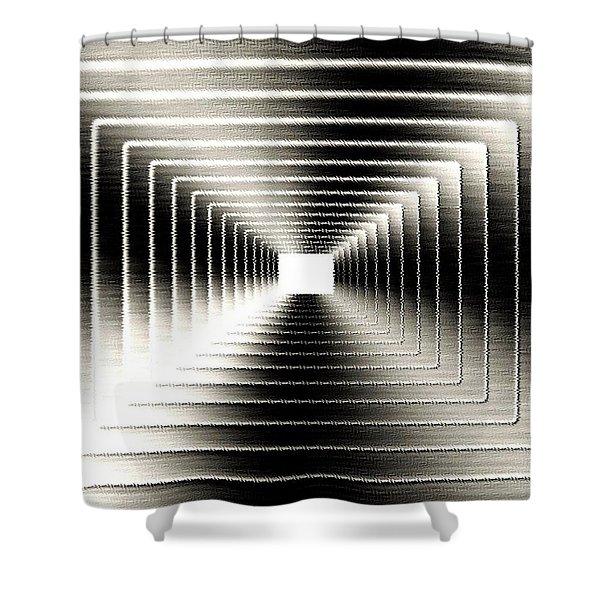 Luminous Energy 3 Shower Curtain by Will Borden