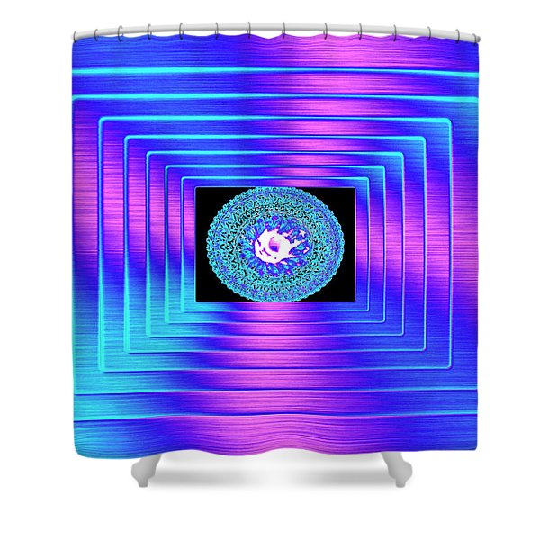 Luminous Energy 9 Shower Curtain by Will Borden