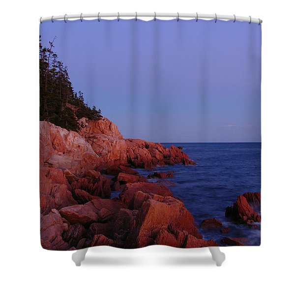 Maine Acadia Np Shower Curtain by Juergen Roth