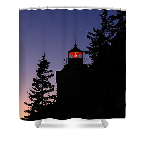 Maine Lighthouse Shower Curtain by Juergen Roth