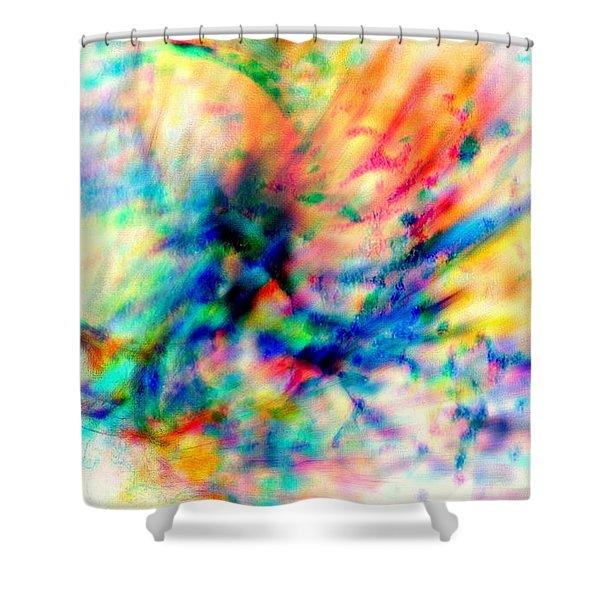Make A Joyful Noise Shower Curtain by WBK