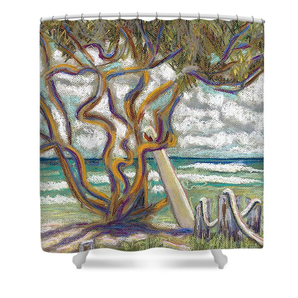 Malaekahana Tree Shower Curtain by Patti Bruce - Printscapes