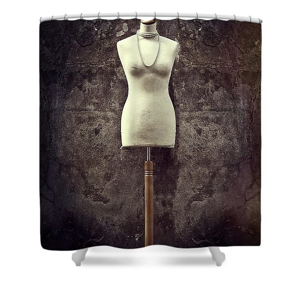 mannequin Shower Curtain by Joana Kruse