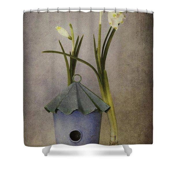 march Shower Curtain by Priska Wettstein