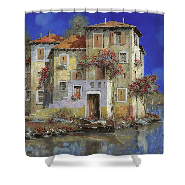 mareblu' Shower Curtain by Guido Borelli