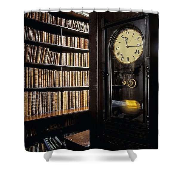 Marshs Library, Dublin City, Ireland Shower Curtain by The Irish Image Collection