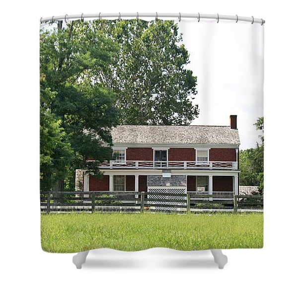 McLean House Appomattox Court House Virginia Shower Curtain by Teresa Mucha