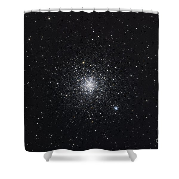Messier 3, A Globular Cluster Shower Curtain by Roth Ritter