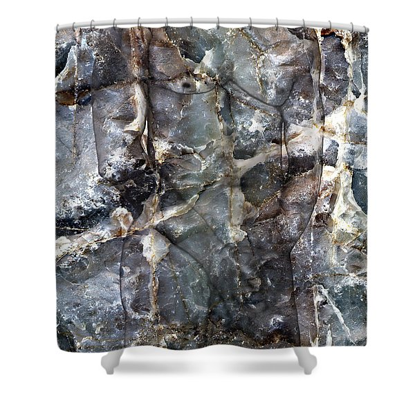 Metamorphosis  Male Shower Curtain by Kurt Van Wagner