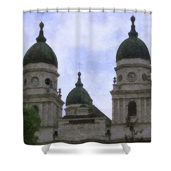 Metropolitan Cathedral Shower Curtain by Jeff Kolker