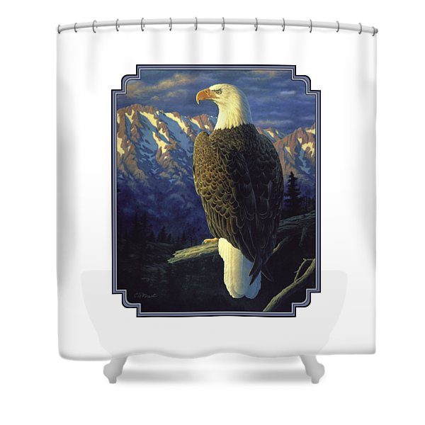 Morning Quest Shower Curtain by Crista Forest