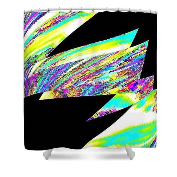 Muse 20 Shower Curtain by Will Borden