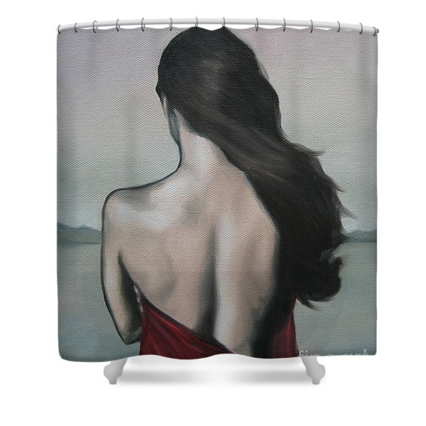 My Endlessness Shower Curtain by Jindra Noewi